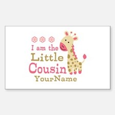 I am the Little Cousin Personalized Decal