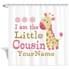I am the Little Cousin Personalized Shower Curtain