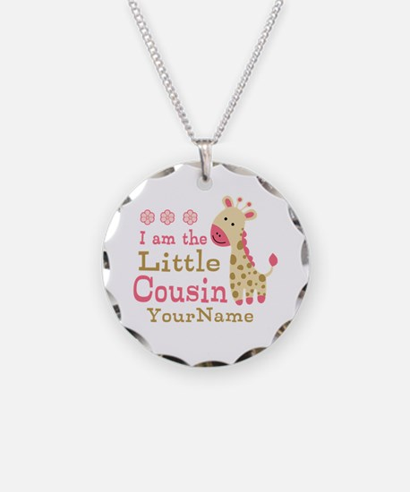 I am the Little Cousin Personalized Necklace