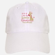 I am the Little Cousin Personalized Baseball Baseball Cap