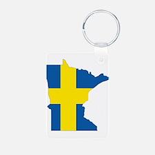 Swede Home Minnesota Keychains