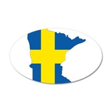 Swede Home Minnesota Wall Decal