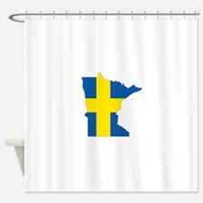 Swede Home Minnesota Shower Curtain