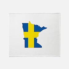 Swede Home Minnesota Throw Blanket