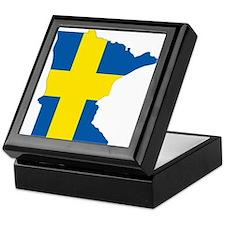 Swede Home Minnesota Keepsake Box