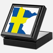 Swede Home Minnesota Keepsake Box