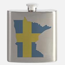 Swede Home Minnesota Flask