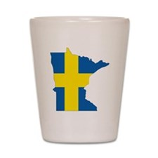 Swede Home Minnesota Shot Glass