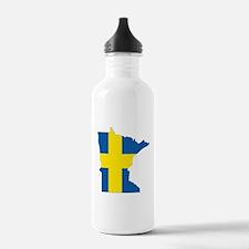 Swede Home Minnesota Water Bottle