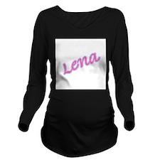 LENA copy.jpg Long Sleeve Maternity T-Shirt