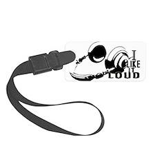 I Like It LOUD Headphones! Luggage Tag