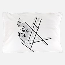 BOS Airport Pillow Case