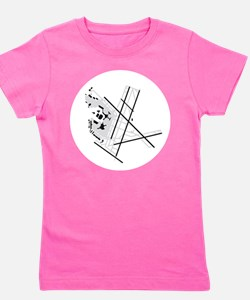 BOS Airport Girl's Tee
