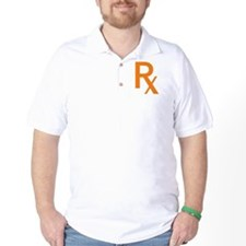 Orange Rx Symbol T-Shirt