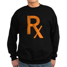 Orange Rx Symbol Jumper Sweater
