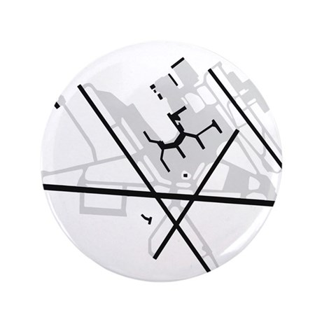 """BWI Airport 3.5"""" Button (100 pack)"""