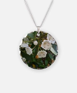 Mountain laurel flowers Necklace