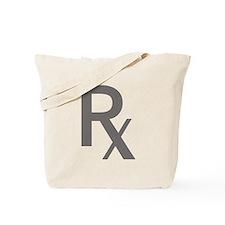 Grey Rx Tote Bag