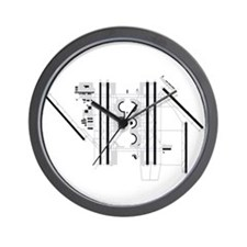 DFW Airport Wall Clock