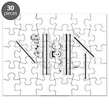 DFW Airport Puzzle