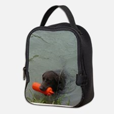 Lab With Bumper Neoprene Lunch Bag