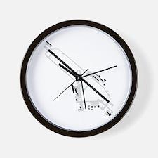 BTV Airport Wall Clock