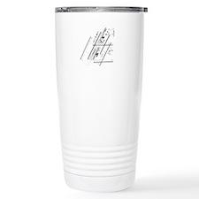 DTW Airport Travel Mug