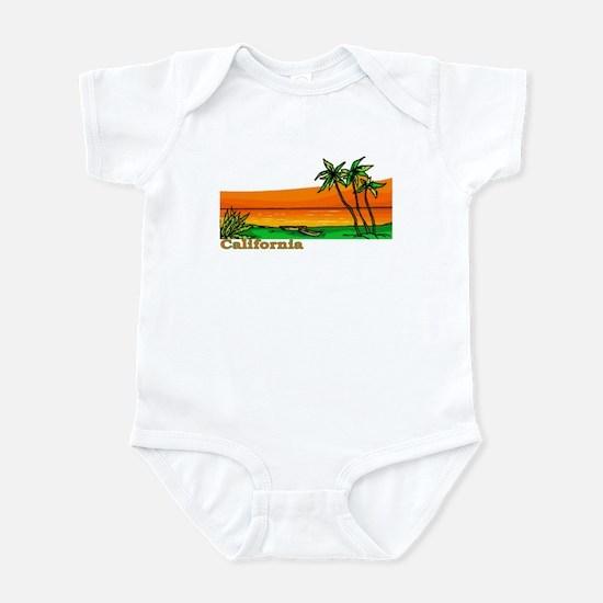 California Orange Sunset (Dar Infant Bodysuit
