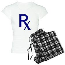 Blue Rx Symbol Pajamas