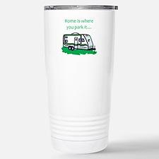 Unique Camp Travel Mug