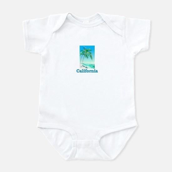 California Beach (Dark) Infant Bodysuit