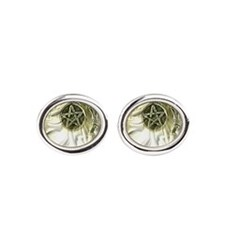 Penticle Moon Star Oval Cufflinks