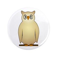 """Owl 3.5"""" Button"""