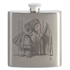 Drink Me vintage Alice in Wonderland emo got Flask