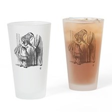 Drink Me vintage Alice in Wonderlan Drinking Glass