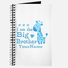 Giraffe Big Brother Personalized Journal