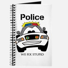 Funny Police We Fix Stupid Journal