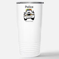 Funny Police We Fix Stupid Travel Mug