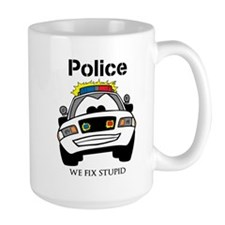 Funny Police We Fix Stupid Mugs