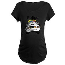 Funny Police We Fix Stupid Maternity T-Shirt