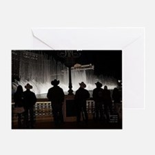 12x12 cowboy christmas 2013 Greeting Cards
