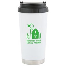 Support Your Local Farmer 3 Travel Mug