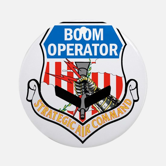 SAC Boom Round Ornament