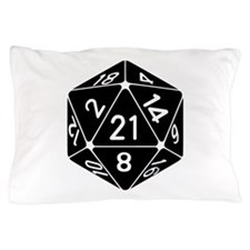 21 Sided 21st Birthday D20 Fantasy Gamer Die Pillo