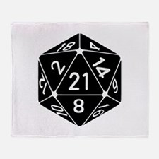21 Sided 21st Birthday D20 Fantasy Gamer Die Throw