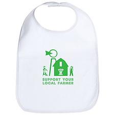 Support Your Local Farmer 3 Bib