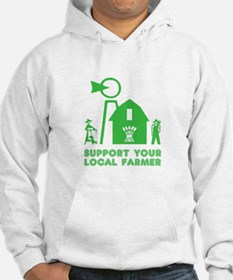 Support Your Local Farmer 3 Hoodie
