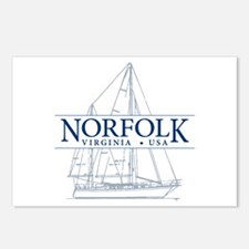 Norfolk VA - Postcards (Package of 8)