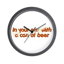 In Your Ear Wall Clock