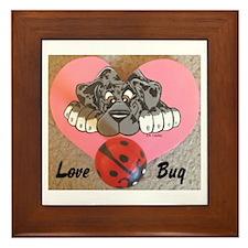 N Mrl Lovebug Framed Tile
